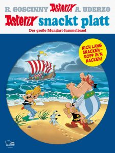 "Cover des Asterix-Mundart-Sammelbandes Plattdeutsch ""Asterix snackt platt"" der Egmont Comic Collection"