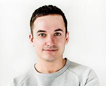 Ein Foto des Head of Media Solutions Mitarbeiter von Egmont Publishing