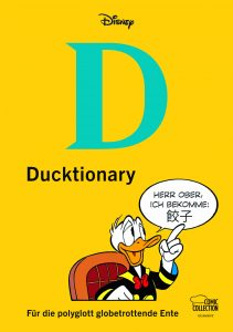 "Cover des Disney-Titels ""Ducktionary"" der Egmont Comic Collection"
