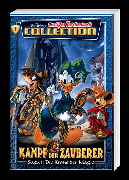 Das Cover der Disney Taschenbuch Collection Kampf der Zauberer