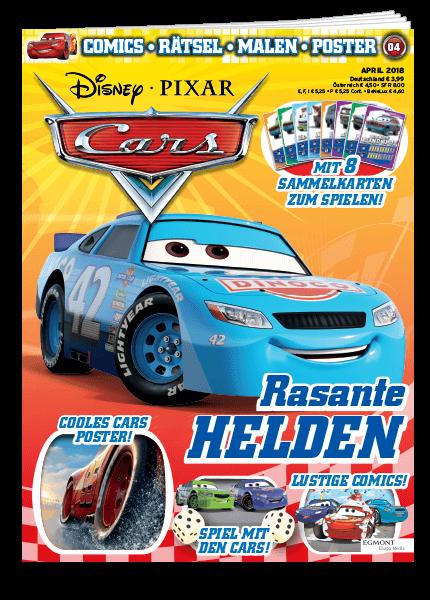 Das Cover vom Magazin Cars erschienen bei Egmont Publishing