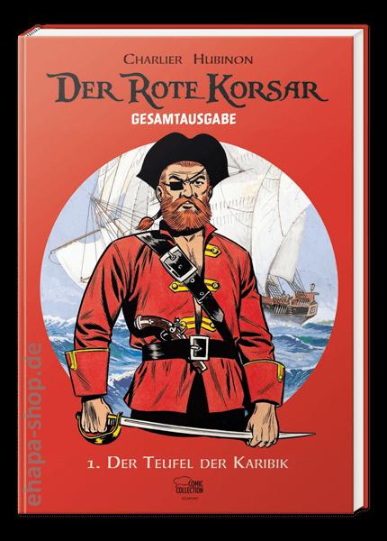 Das Cover der Gesamtausgabe Der Rote Korsar erschienen in der Comic Collection