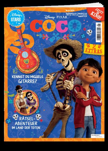 Das Cover vom Magazin Coco erschienen bei Egmont Publishing