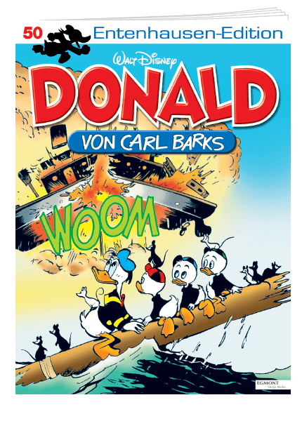 Das Cover vom Magazin Entenhausen Edition erschienen bei Egmont Publishing