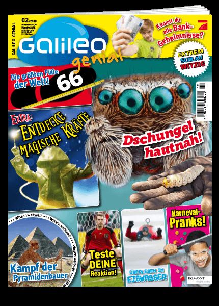 Das Cover vom Magazin Galileo Genial erschienen bei Egmont Publishing
