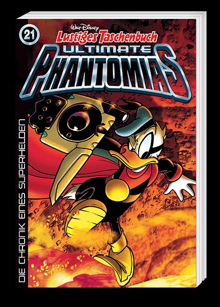 Das Cover des Taschenbuchs Phantomias erschienen bei Egmont Publishing