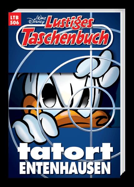 Das Cover des Taschenbuchs Tatort Entenhausen erschienen bei Egmont Publishing
