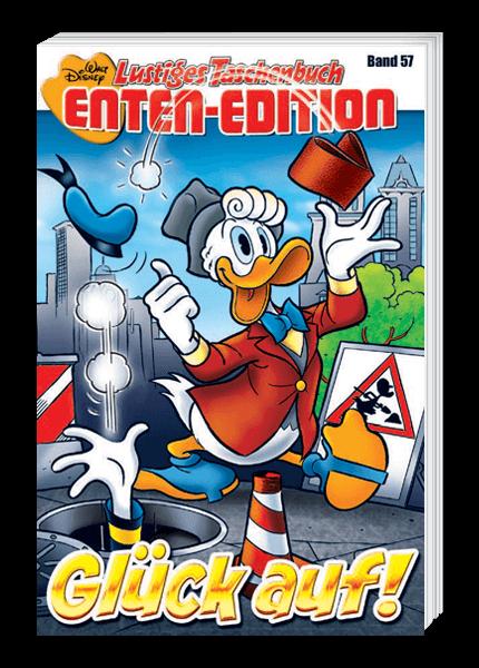 Das Cover des Walt Disney Taschenbuchs Enten Edition