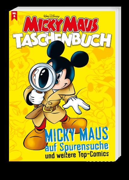 Das Cover des Taschenbuchs Micky Maus auf Spurensuche erschienen bei Egmont Publishing