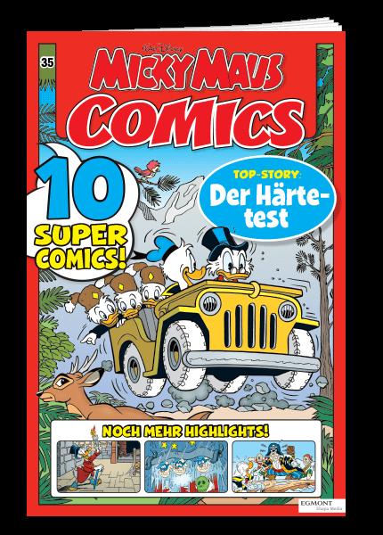 Das Cover von Micky Maus Comics erschienen bei Egmont Publishing