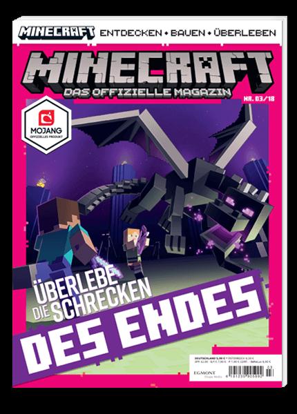 Das Cover vom Magazin Minecraft erschienen bei Egmont Publishing