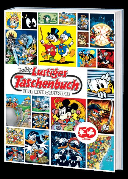 Das Cover vom Walt Disney Lustiges Taschenbuch Eine Retrospektive