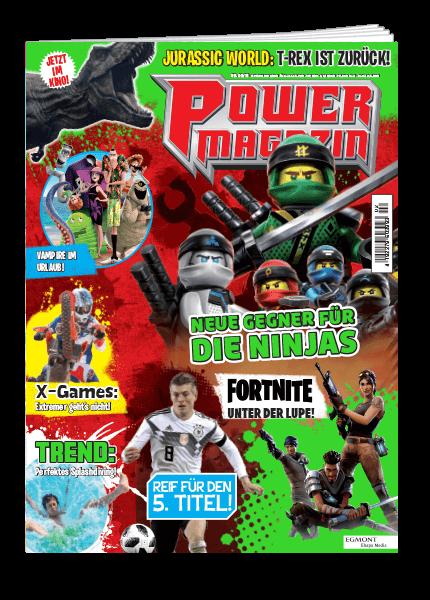 Das Cover vom Power Magazin erschienen bei Egmont Publishing