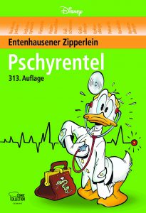 "Cover (© 2018 Disney) des Disney-Titels der Egmont Comic Collection ""Pschyrentel"""