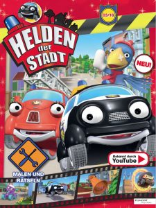 Cover der ersten Ausgabe von Helden der Stadt