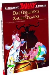 """Packshot des Albums der Egmont Comic Collection zum Film """"Das Geheimnis des Zaubertranks"""""""