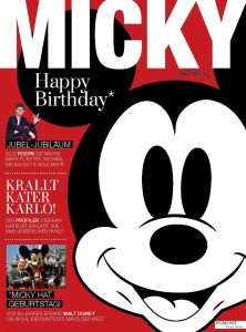 Cover des Micky Lifetsyle Magazins
