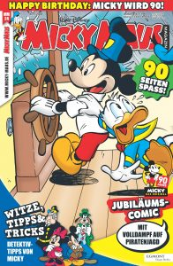 Cover des Micky Maus Magazins Nr. 24 zu 90 Jahre Micky Maus