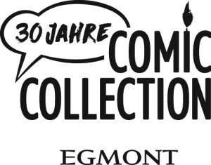 "Jubiläumslogo ""30 Jahre Egmont Comic Collection"""