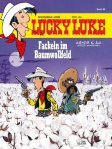 Cover Lucky Luke Fackeln im Baumwollfeld