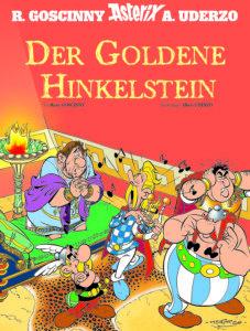 Cover des illustrierten Albums Asterix Der Goldene Hinkelstein