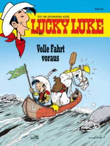 "Cover vom Lucky Luke Band 98 ""Volle Fahrt voraus"" © Lucky Comics 2020"