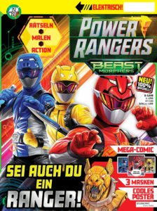 Cover des Power Rangers-Magazins