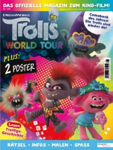 Cover des Trolls World Tour Kindermagazins